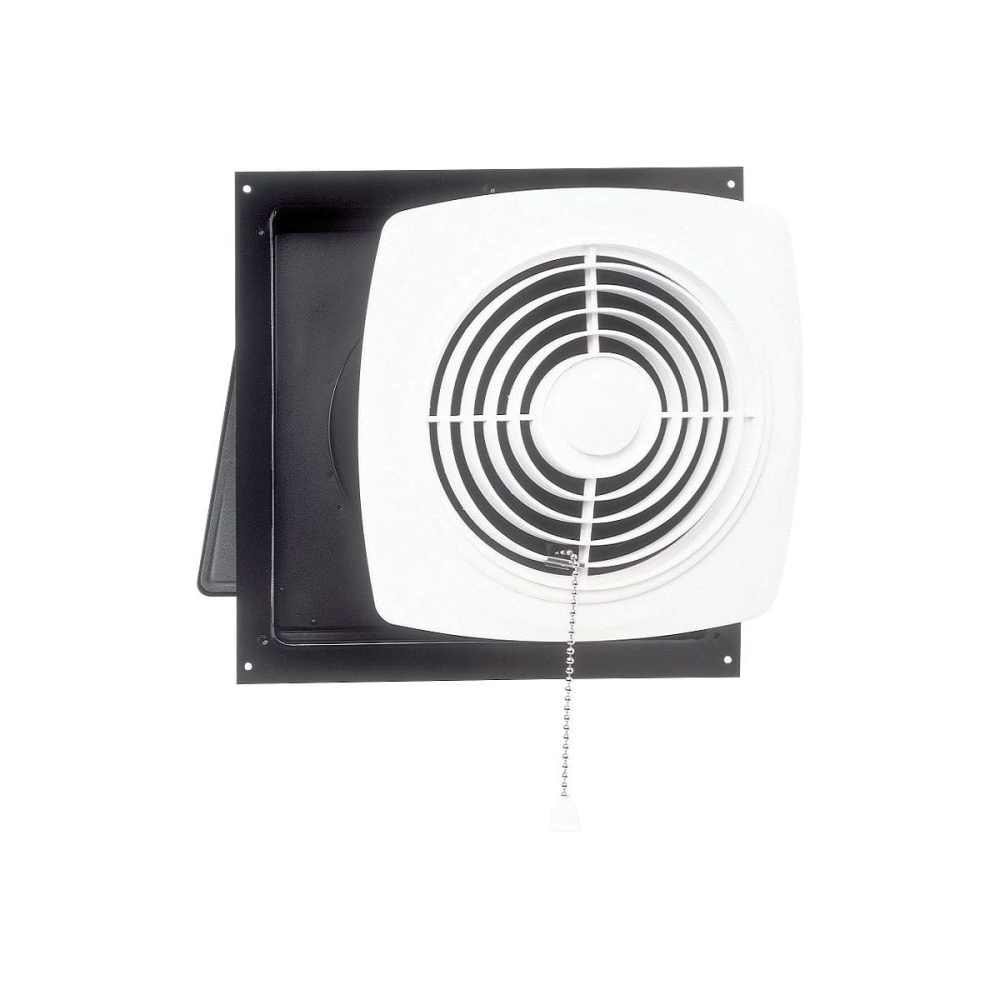 medium resolution of broan 10 470 cfm chain operated wall fan white square plastic grille 506