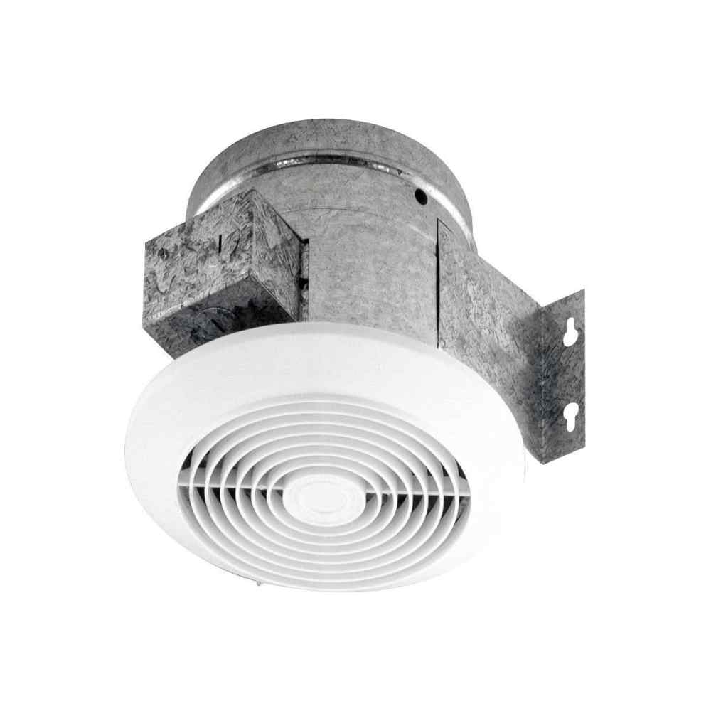 medium resolution of broan 6 60 cfm ceiling ventilation fan white plastic grille 673