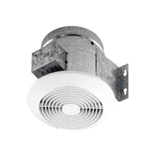 small resolution of broan 6 60 cfm ceiling ventilation fan white plastic grille 673