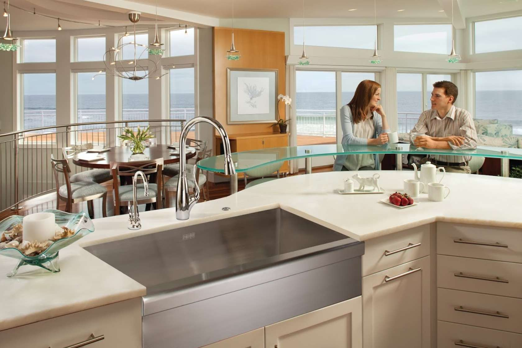 franke kitchen sinks pull out cabinets architizer