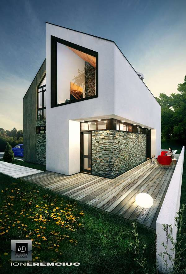 Small Eco House - Architizer