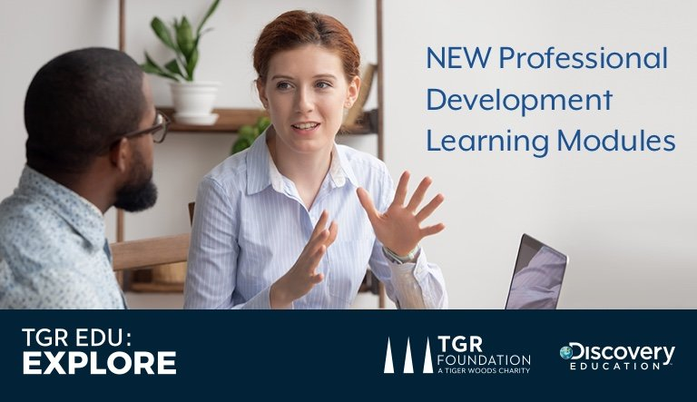TGR Foundation and Discovery Education Launch New Digital Professional Development Series