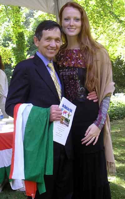 Dennis Kucinich and his wife
