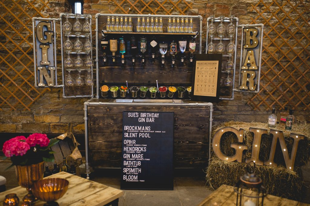 Discover our all new Gin Bar for hire  Gin Bar for events and more  Ace Bar Events