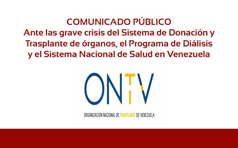 Comunicado público - ONTV