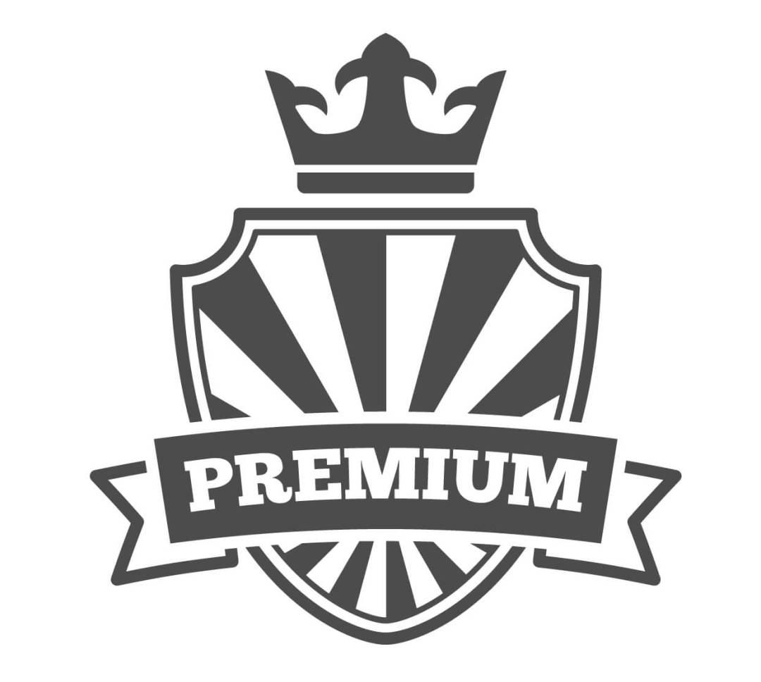 premium brand SEO vector icon
