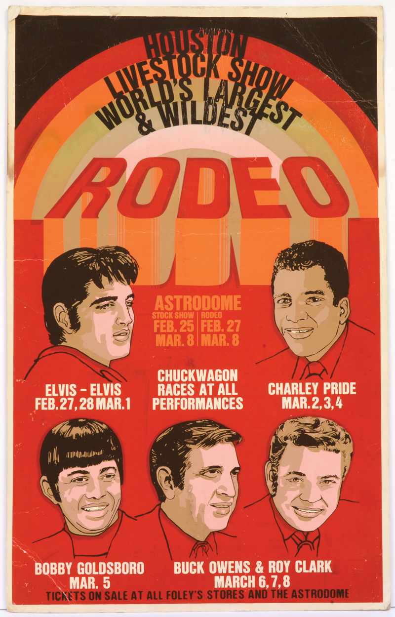 Image result for elvis feb 27 astrodome