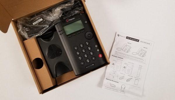 VVX 101 Single line VoIP Desktop Phone