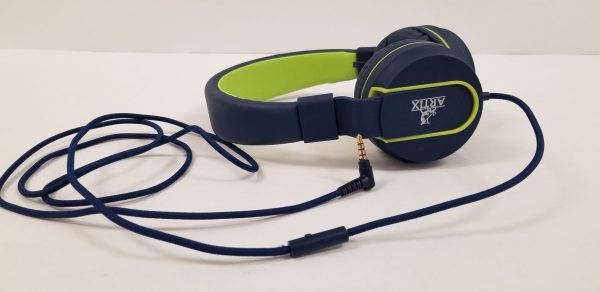 Artix Foldable On-Ear Wired Headphones with In-line Mic
