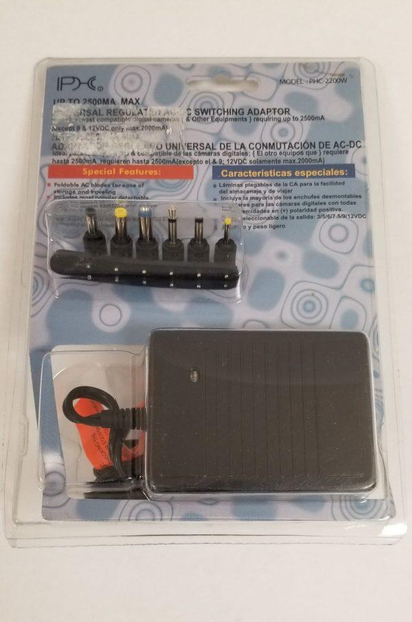 Universal Regulated AC-DC Switching Power Adapter