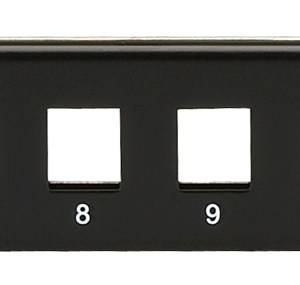 Multimedia Patch Panel - 1U, 16-Port
