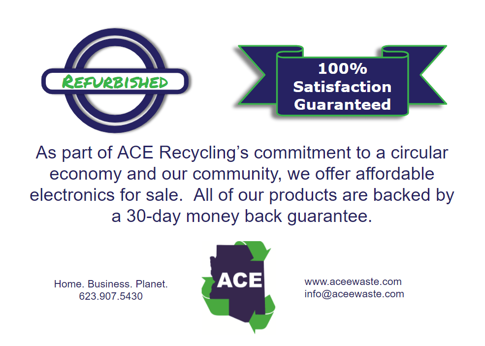 ACE Recycling Laptops For Sale