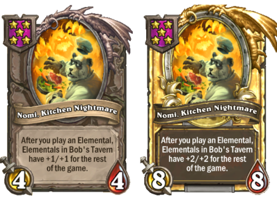Nomi, Kitchen Nightmare Normal+golden