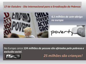 Dia Interncional Erradicação da Pobreza