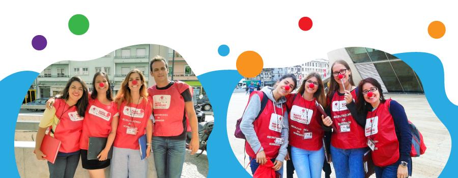Operação Nariz Vermelho está a recrutar para a campanha Face to Face 2018