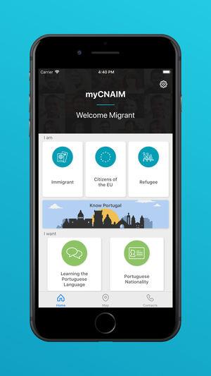 MyCNAIM:  lançamento da aplicação móvel de apoio a pessoas migrantes e refugiadas