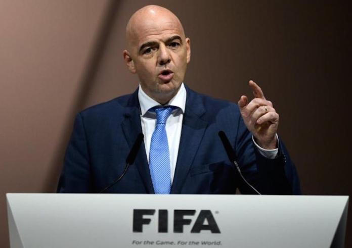 Presiden FIFA Gianni Infantino