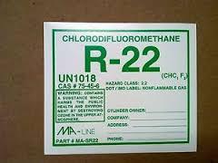 R-22 sticker