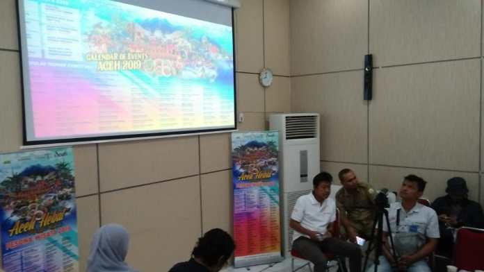 Aceh Rilis 100 Event Sepanjang 2019