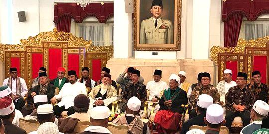 Kumpulkan Ulama Aceh, Jokowi Minta Bantuan Tangkal Kabar Hoaks
