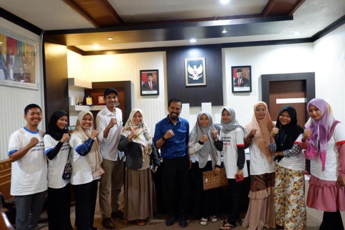 Puluhan Anak Muda Aceh Suarakan Pemenuhan HKSR