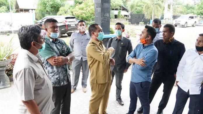 Komisi V DPRA Sidak Balitbangkes Terkait Kesiapan Penanganan COVID-19 di Aceh