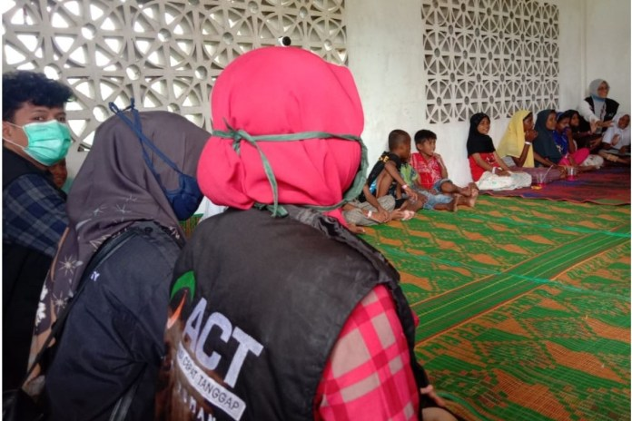 ACT Beri Trauma Healing untuk Anak-anak Pengungsi Rohingya di Aceh