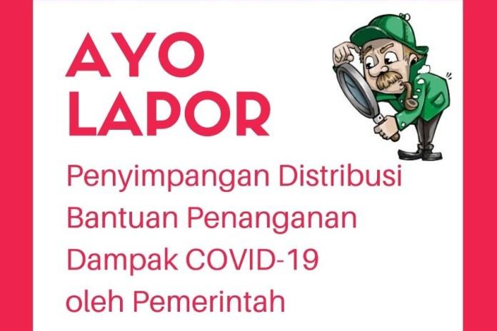 ICW Gandeng MaTA Buka Posko Pengaduan Distribusi JPS dan Pengadaan Alkes Covid-19 di Aceh