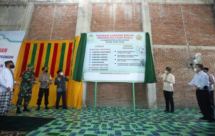 Unsyiah Canangkan 7 Desa Binaan di Aceh Besar