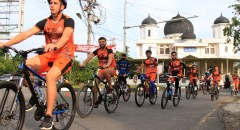 Persiraja Bangun Kekompakan Tim dengan Bersepeda Bersama
