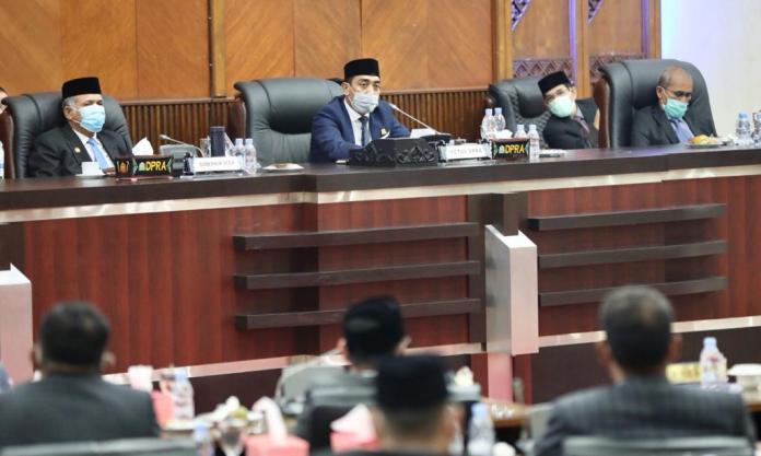DPRA Tolak Seluruh Jawaban Plt Gubernur Aceh Terkait Hak Interpelasi