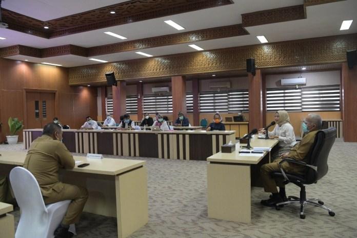 Setelah Doni Monardo, Giliran Tim Kemenkes Kunjungi Aceh Bahas Penanganan COVID-19