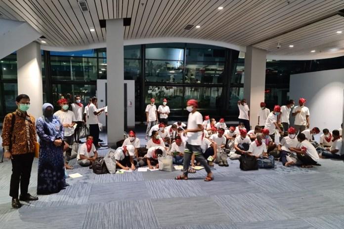 51 Nelayan Aceh yang Dibebaskan Raja Thailand Tiba di Jakarta