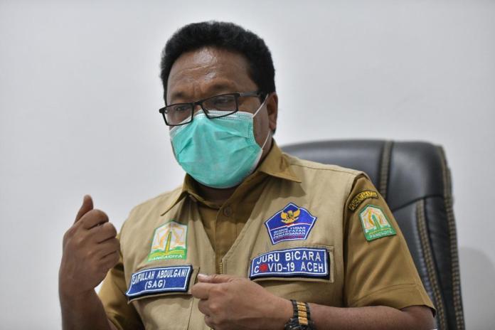 Satgas: Penderita COVID-19 Umumnya Isolasi Mandiri, Kasus Baru di Aceh Bertambah 21