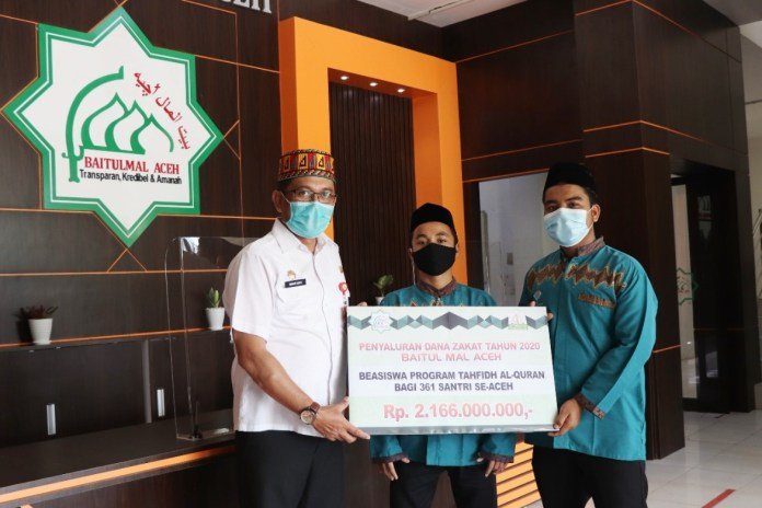 361 Santri Tahfiz di Aceh Dapat Beasiswa Berkelanjutan dari Baitul Mal Aceh