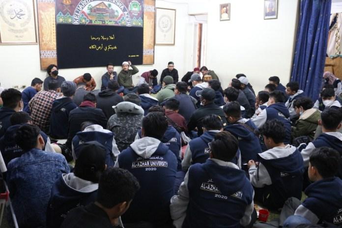 KMA Mesir Sambut 74 Mahasiswa Baru Universitas Al-Azhar Kairo Asal Aceh