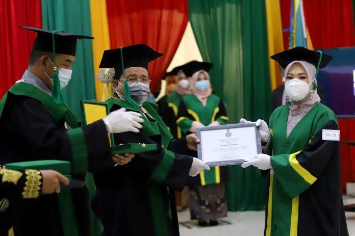 Digelar Tiga Hari, UIN Ar-Raniry Wisuda 1.428 Sarjana hingga Doktor