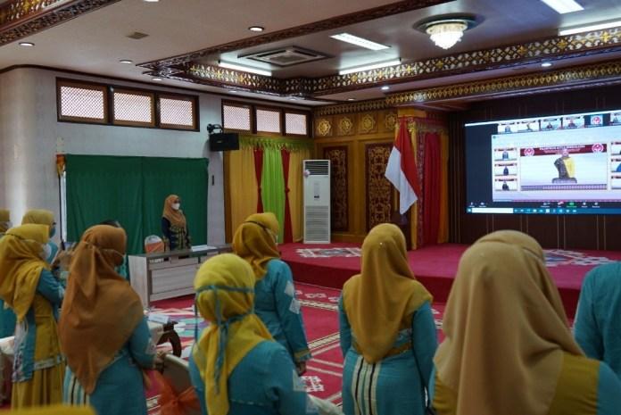 Dyah Erti Idawati Resmi Dilantik Menjadi Ketua Dekranasda Aceh
