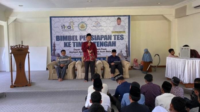 IKAT Aceh Beri Bimbingan Belajar untuk Calon Mahasiswa ke Timur Tengah