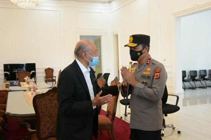 Akhiri Masa Jabatan Kapolda Aceh, Irjen Wahyu Widada Pamitan dengan Wali Nanggroe