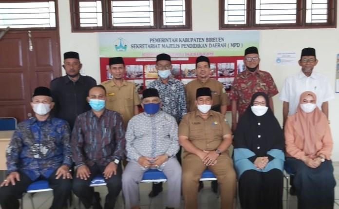 Majelis Pendidikan Aceh: Pemkab Bireuen Perlu Perkuat MPD