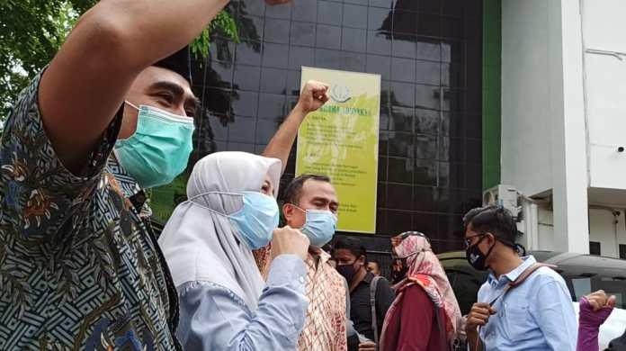50 OMS Aceh Kirim Surat Dukungan Permohonan Amnesti Saiful Mahdi ke Presiden Jokowi