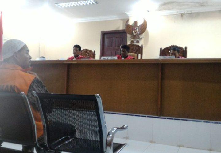 PN Meulaboh Vonis 2 Tahun Penjara untuk MA