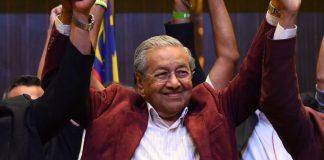 Mahathir Mohammad Kembali Pimpin Malaysia