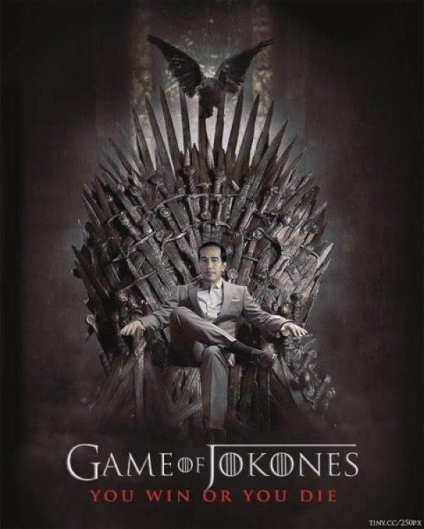 Presiden Jokowi Penggemar Game of Thrones