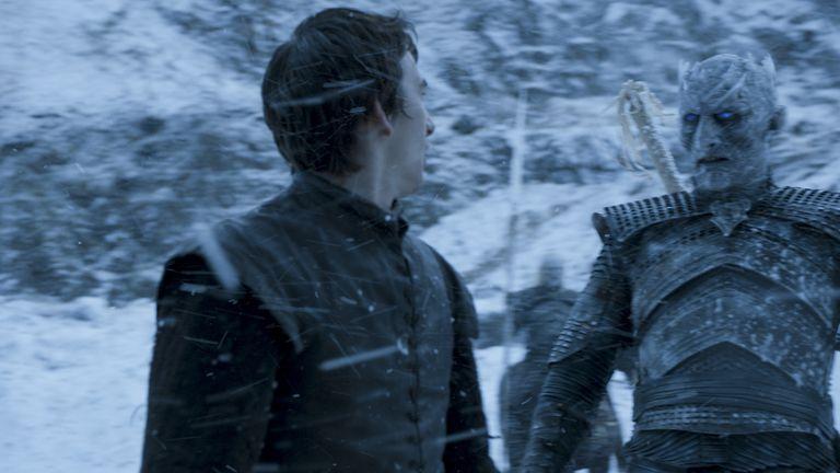Bran Stark dan Night King