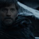 Jaime Lannister menatap Bran Stark