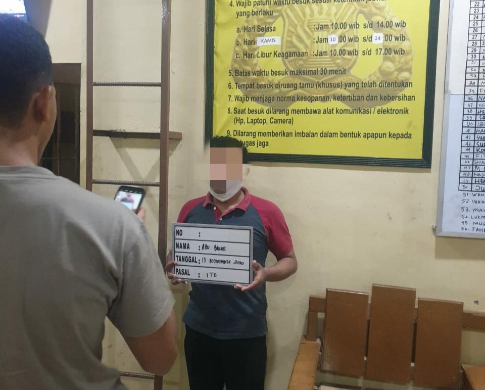 Eks Ketua FPI Banda Aceh Ditangkap