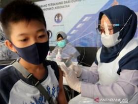 Aceh Masih Rendah Cakupan Vaksinasi
