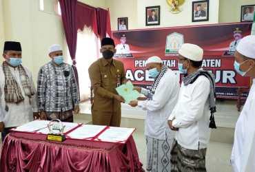 Kompleks Islamic Center Kota Langsa